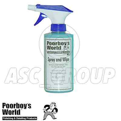 Poorboy's World Spray and Wipe Waterless Wash 16ox 473ml