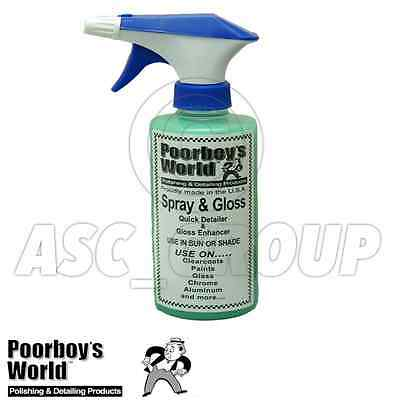Poorboy's World Spray and Gloss Quik Detailer 16ox 473ml