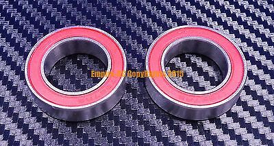 696RS Black QTY 5 6x15x5 mm 696-2RS HYBRID CERAMIC Si3N4 Ball Bearing