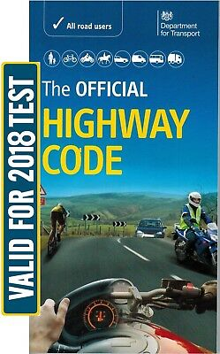 The Highway Code Book 2017 Driving Standard Agency DSA DVLA Theory Test Car *hw