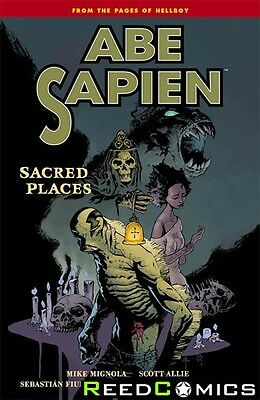 ABE SAPIEN VOLUME 5 SACRED PLACES GRAPHIC NOVEL New Paperback