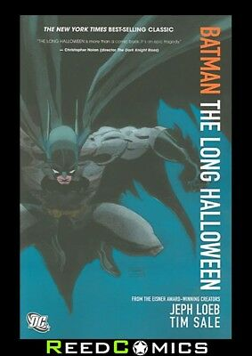 BATMAN THE LONG HALLOWEEN NEW EDITION GRAPHIC NOVEL Paperback Jeph Loeb Tim Sale