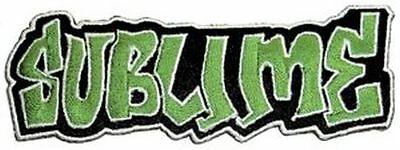 Sublime Logo - Embroidered Patch - Brand New - Music Band 0350
