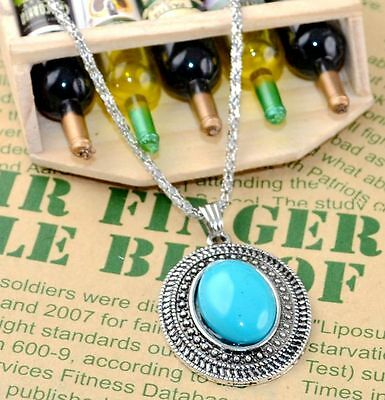 New Classical Natural hot resin cute tibet silver Necklace+Pendant H-1392