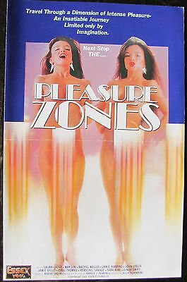 PLEASURE ZONES Laura Lazar Rachel Welles Cindy Swift ADULT Rated X PRESSBOOK