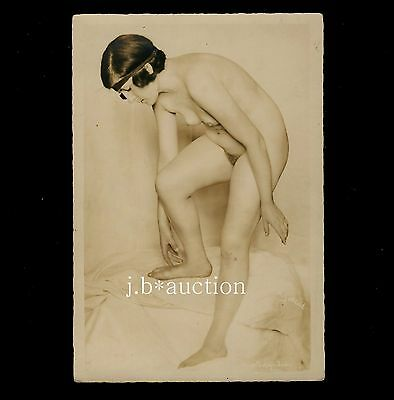 Nude Woman Study INDRA Akt Studie * Rare Vintage 1920s Photo by GOTTHEIL - no PC