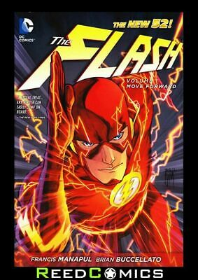 FLASH VOLUME 1 MOVE FORWARD GRAPHIC NOVEL New Paperback Collects Issues #1-8