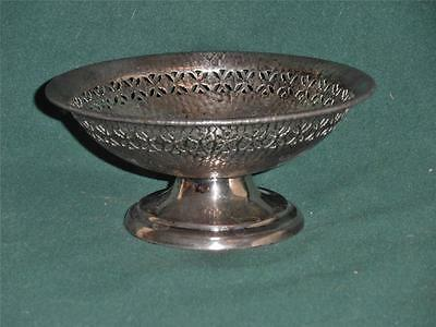 Vintage..E & JB Empire Art Silver...Decorative Candy Dish.....1890's to 1930's