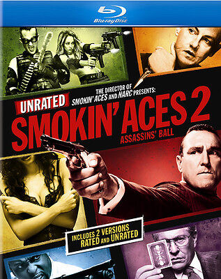 Smokin' Aces 2: Assassins' Ball [Rated/Unrated] (2010, Blu-ray New) BLU-RAY/WS