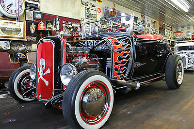 Ford : Other Custom 1929 model a roadster very well built magazine cover car