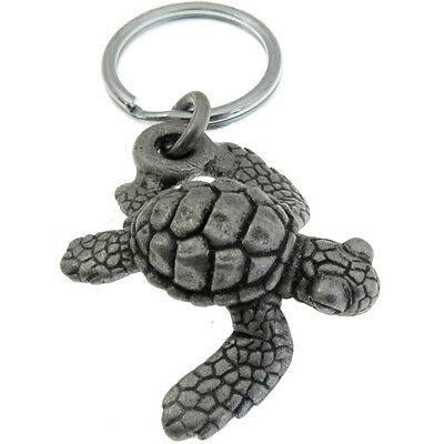 Baby Loggerhead Sea Turtle Keychain or Zipper Pull