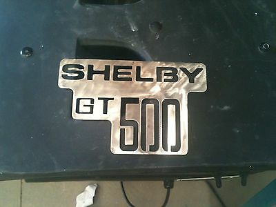 Shelby GT 500 logo Metal Man Cave/Garage Wall Art