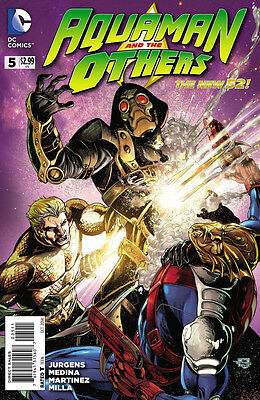Aquaman And The Others #5 Vf/nm The New 52!