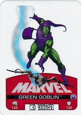 #30 GREEN GOBLIN 2008 Marvel Edibas Lamincards SPIDER-MAN