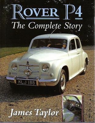 Rover P4 The Complete Story 60 75 80 90 105 105R 105S 110 Gas Turbine by Taylor