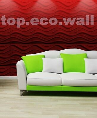 3D WALL CEILING PANELS POLYSTYRENE TILES (Pack of 32) 8 Sqm - WAVE 3D