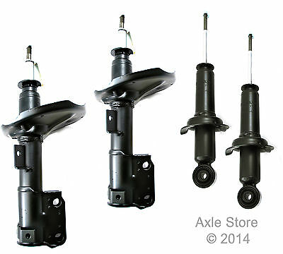 4 New Struts Full Set Lifetime Warranty Fits Mitsubishi Outlander Free Shipping