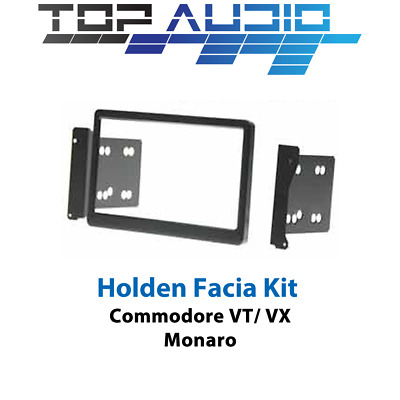 Holden Commodore VT VX VU Monaro Double 2 Din radio facia fascia dash panel trim