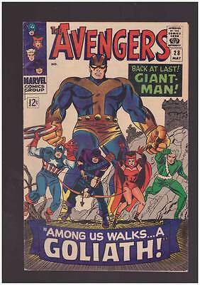 Avengers # 28  First App. The Collector grade 5.5 Guardians movie hot book !!