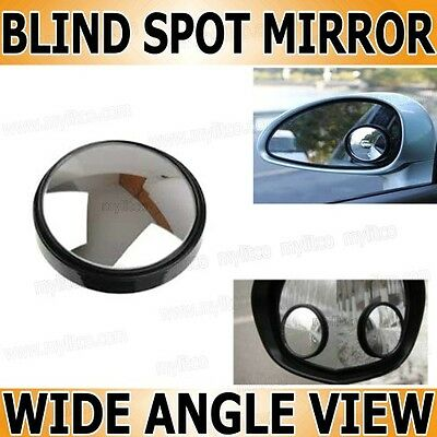2x Car Safety Blind Spot Mirror Wide Angle Adjustable Towing Reversing Wing MMA3