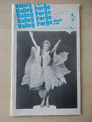 1978 - Valley Forge Music Fair Theatre Playbill - Mitzi Gaynor Show - Gaynor