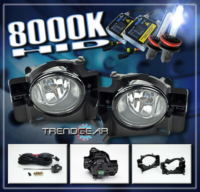 LOWER BUMPER YELLOW FOG LIGHTS KIT W//BULBS+SWITCH FOR 2008-2012 ALTIMA COUPE 2DR
