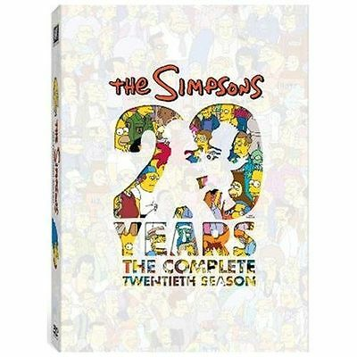 The Simpsons: The Complete Twentieth Season New DVD! Ships Fast!