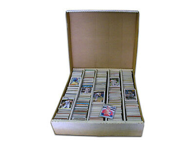Baseball Trading Cards 5,000 Cards from an Assortment of Mixed Years & Brands