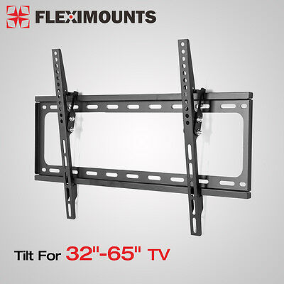 "Tilt TV Wall Mount Bracket 24"" wall stud 600x400mm 32 37 39 42 46 50 55 60 65 TV"