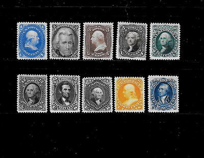 Reproductions of 102 - 111 Re-Issue Stamps *Fakes 085