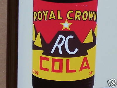 RC Pyramid BOTTLE -Royal Crown Cola & Moon Pie Cookies - GAS STATION Thermometer