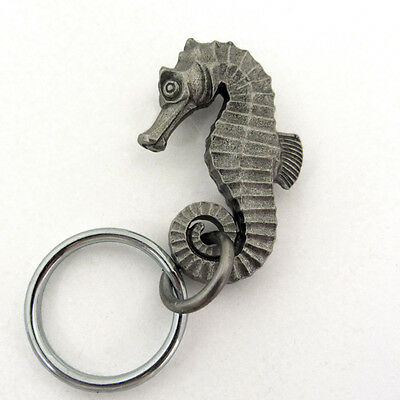 Seahorse Keychain or Zipper Pull