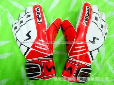 Professional Goalkeeper Gloves Thick Soccer Glove Keeper Finger Protection