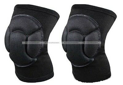 2X Sport Football Basketball Volleyball Hiphop Kneecap Sponge Knee Pad Protector