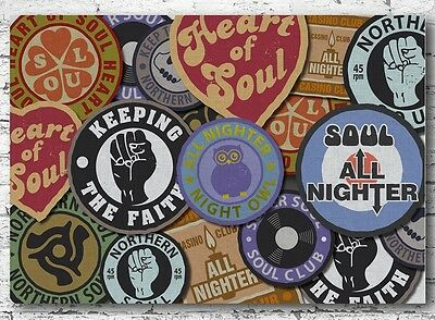 Music Poster Reprint Northern Soul Keep The Faith 1
