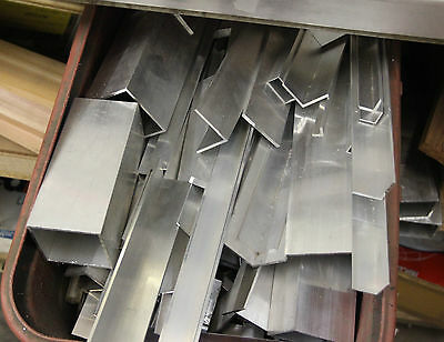 Aluminium Offcuts - Sold By Weight  Angle Round Box Square Be Quick Ebay Bargain