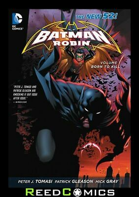 BATMAN AND ROBIN VOLUME 1 BORN TO KILL GRAPHIC NOVEL New Paperback Collects #1-8
