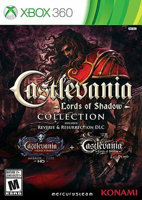 Castlevania: Lords of Shadow Collection (Xbox 360) Brand NEW