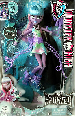 *Monster High* HAUNTED STUDENT SPIRITS RIVER STYXX DOLL SET- In Hand!!