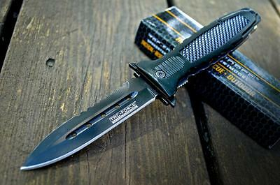 TACTICAL COMBAT Spring Assisted FOLDING POCKET KNIFE Military Army NEW w/ BOX
