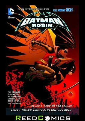 BATMAN and ROBIN VOLUME 4 REQUIEM FOR DAMIAN GRAPHIC NOVEL New Paperback #18-23