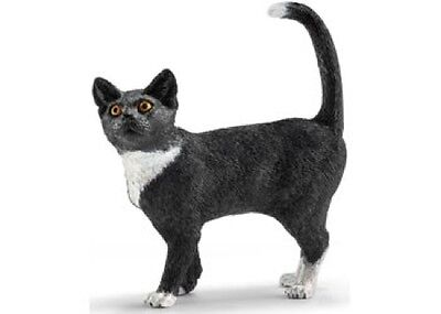 Schleich - Cat Standing Toy Figure NEW Farm Life #13770