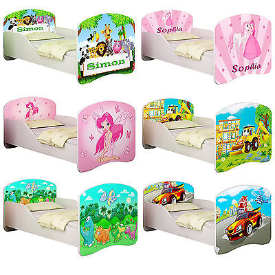 Toddler Children Kids Bed + Free Mattress  Free Delivery 140X70