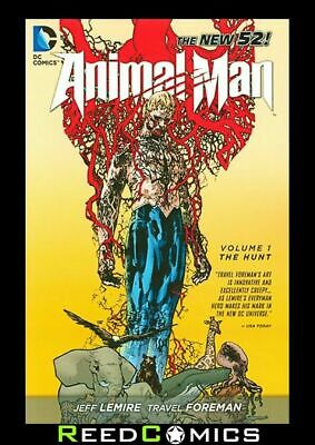 ANIMAL MAN VOLUME 1 THE HUNT GRAPHIC NOVEL New Paperback Collects (2011) #1-6