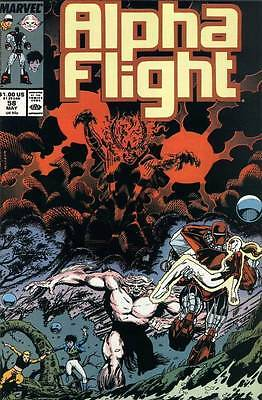 Alpha Flight Vol. 1 (1983-1994) #58