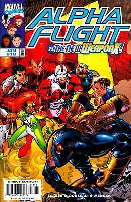Alpha Flight Vol. 2 (1997-1999) #18