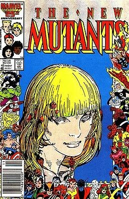 New Mutants Vol. 1 (1983-1991) #45
