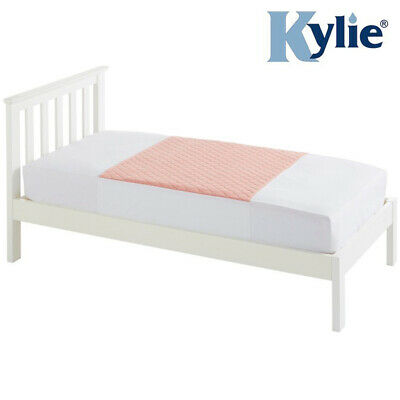 Kylie Junior Bed Pad - Pink - 2 Litres - Absorbent Bed Protection