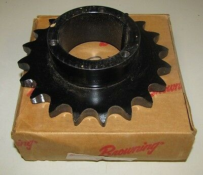 Browning H80Q20 72Mm Approximate Bore Single Row Roller Chain Sprocket Nib