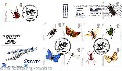 2008 Insects - The Ultra Scarce Insects Stamps On Sale Slogan!